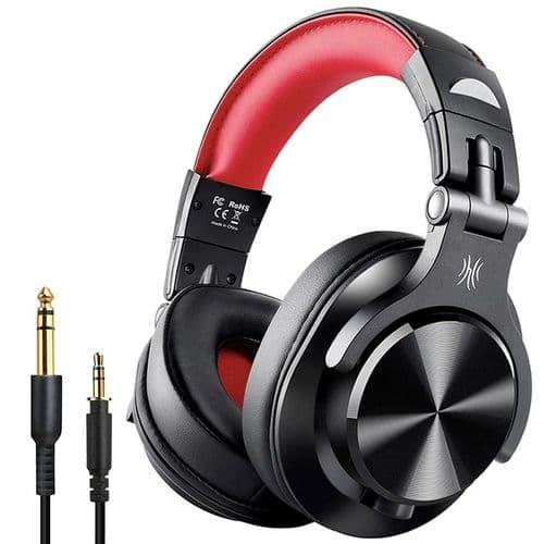 Oneodio A70 Technologie Partage Bluetooth Casque Sans Fil + Cable 3,5Mm Jack Rd